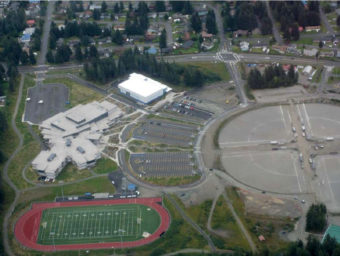 The current layout of the Dimond Park area.