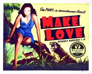 Make Love on KXLL!
