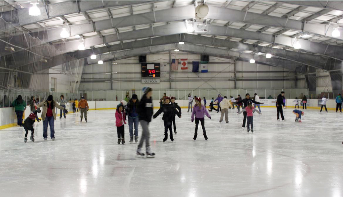 Skaters at Treadwell Arena. (Image from CBJ Parks and Recreation Presentation)