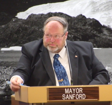 Mayor Merrill Sanford