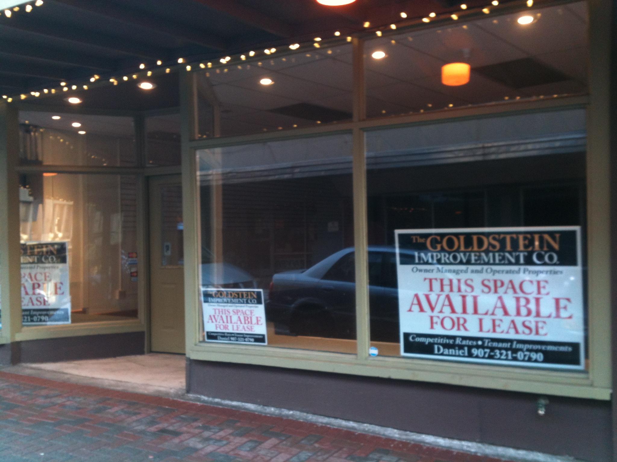 Storefront at 213 Seward Street