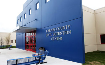 Karnes County Detention Center in Karnes City, Texas. ICE