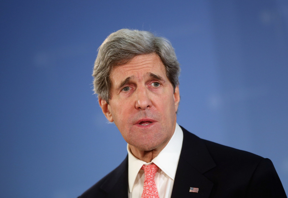 U.S. Secretary of State John Kerry. Sean Gallup/Getty Images