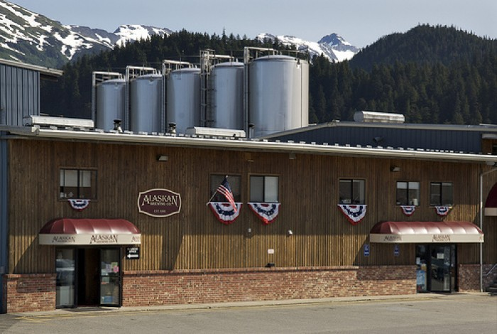 Juneau's Alaskan Brewing Company is using an innovative boiler to save fuel and shipping costs. Photo courtesy of Alaska Brewing Company.