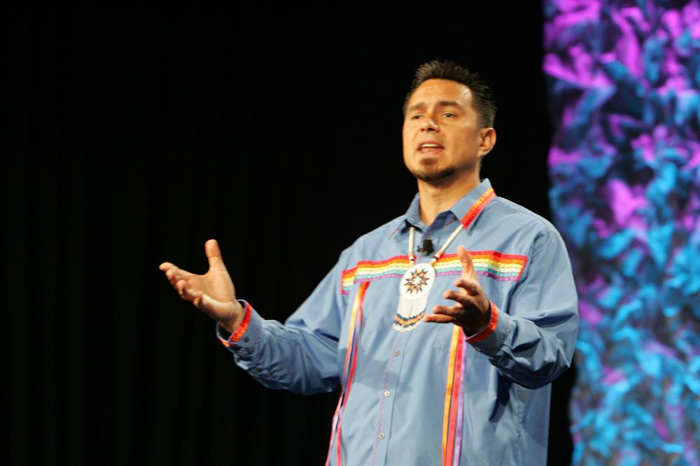 Motivational speaker D.J. Eagle Bear Vanas