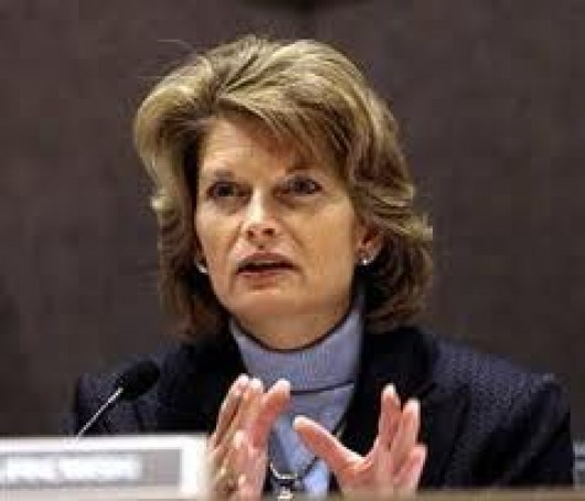Sen. Lisa Murkowski, prime sponsor of one of two Sealaska land-selection bills introduced in Congress.