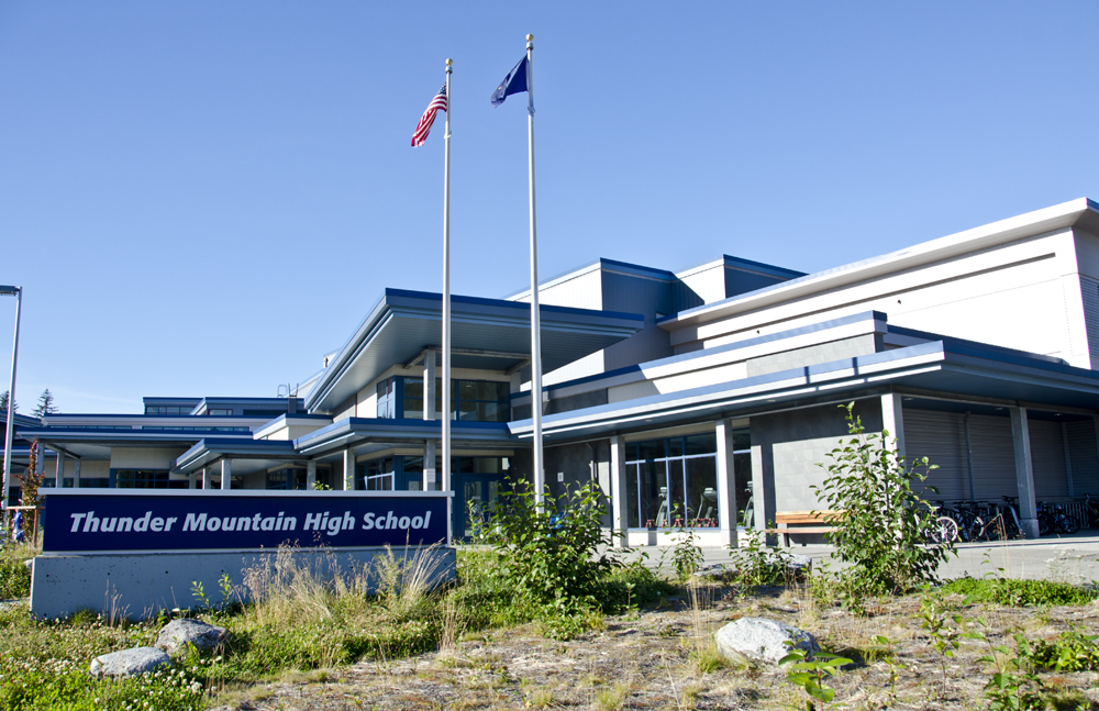 Thunder Mountain High School went into lockdown last May after a report of a gun on campus. City and school officials are moving away from the lockdown-only strategy for dealing with an active threat. (File photo)