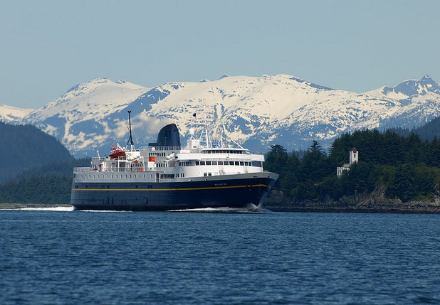 The Malaspina returns from Skagway.