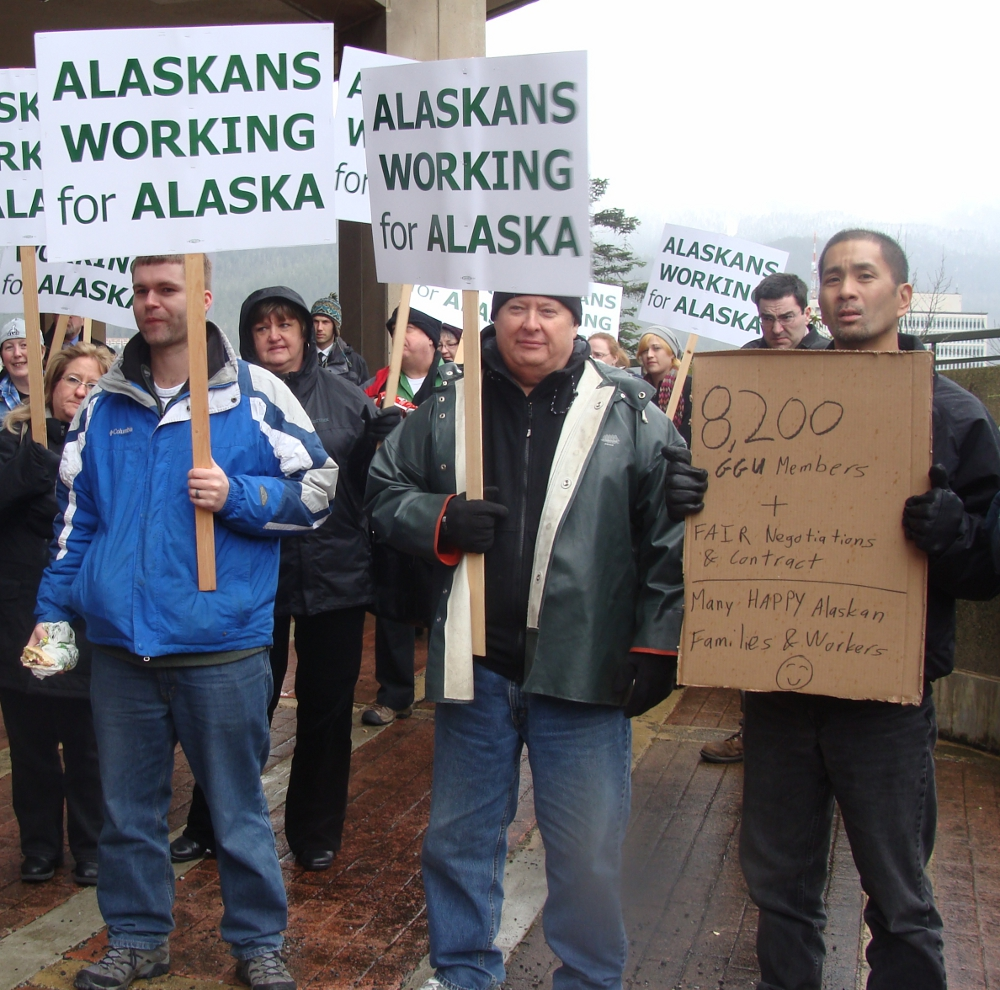 ASEA rally for new contract