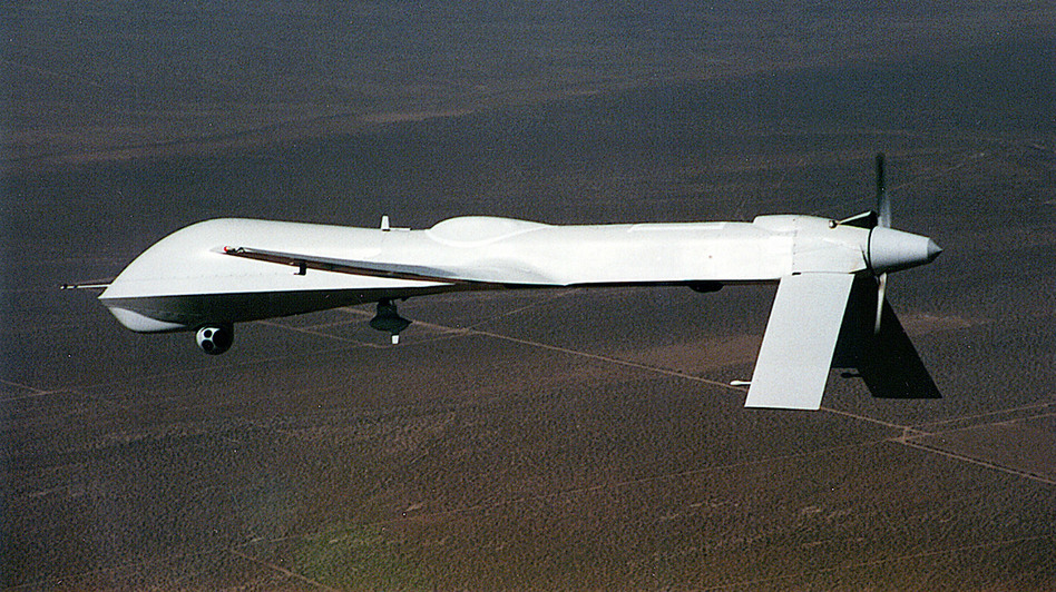 A Predator drone. General Atomics/Getty Images