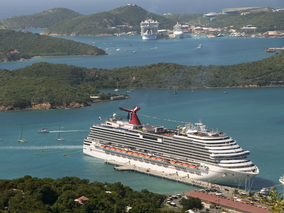 Carnival Dream docked in St. Thomas, U.S.VI. in December 2010. Andy Newman/Associated Press
