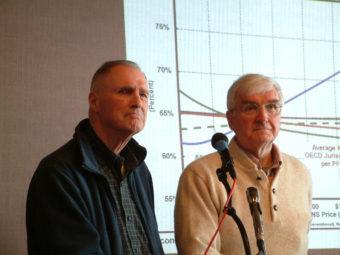 MACC's Bill Corbus and Jim Clark