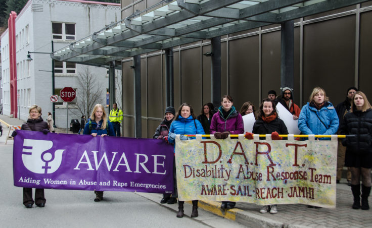 AWARE and DART are two organizations that work to help victims of abuse. (Photo by Heather Bryant/KTOO)