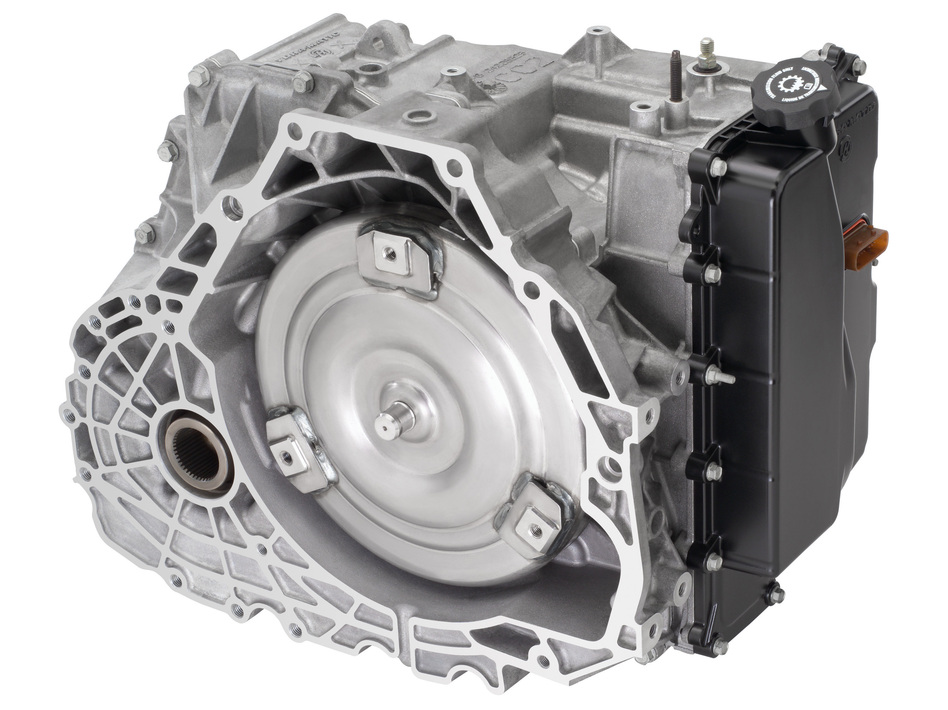 Schematic of the current generation of six-speed transmissions co-developed by GM and Ford. GM/Wieck