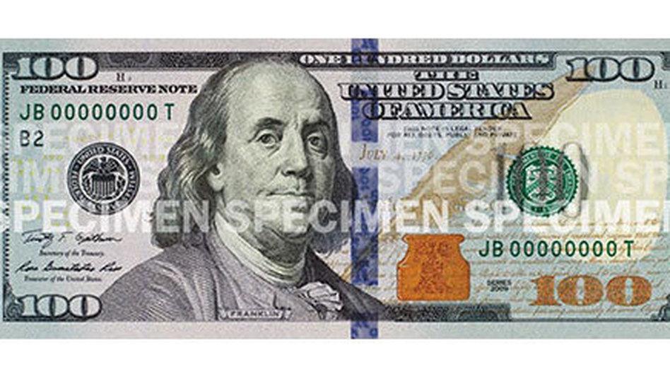 The new Ben Franklin. Newmoney.gov