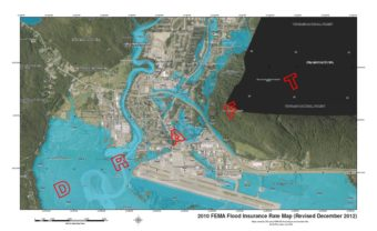 FEMA Mendenhall Valley Flood Map revised December 2012