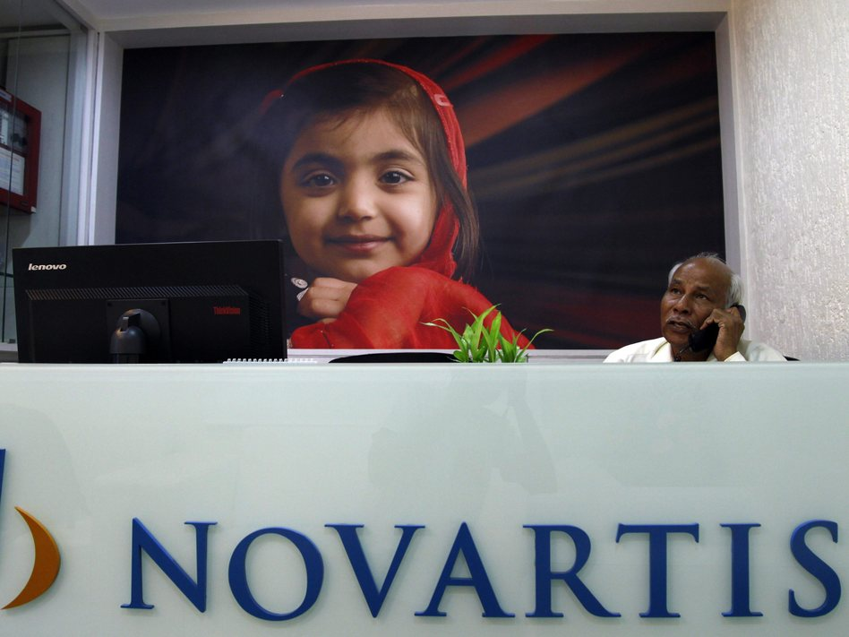 A Novartis office in Mumbai, India. Divyakant Solanki /EPA /LANDOV
