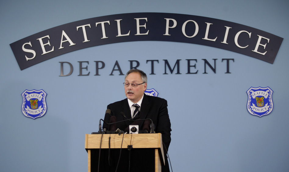 Seattle Police Chief John Diaz in 2009. Ted S. Warren/AP