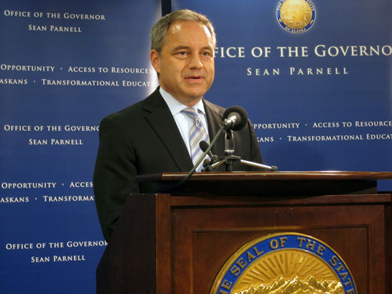 Governor Sean Parnell.