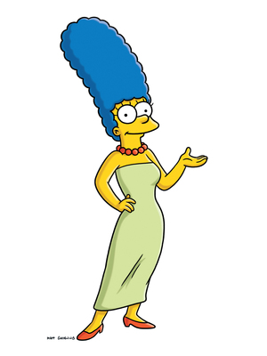 The inspiration for Marge Simpson, from the animated series The Simpsons, died April 22. Margaret Groening, the mother of Simpsons' creator Matt Groening, was 94. AP