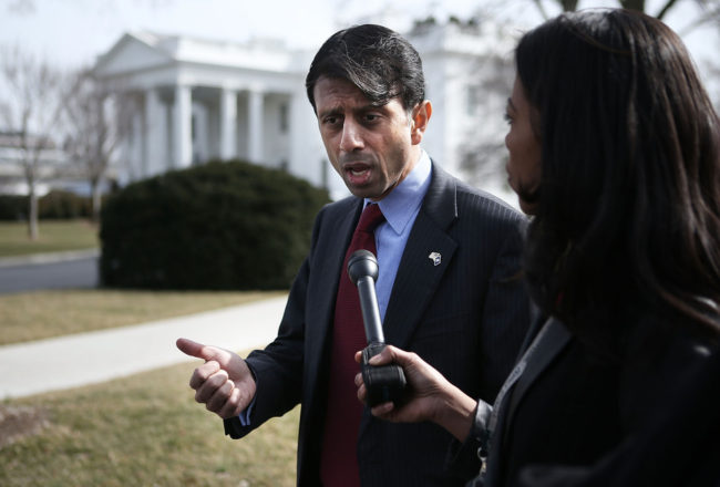Louisiana Gov. Bobby Jindal, who has been a proponent of school vouchers. Alex Wong/Getty Images