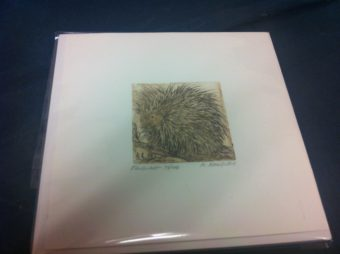 MICHELLE MORRELL ETCHING