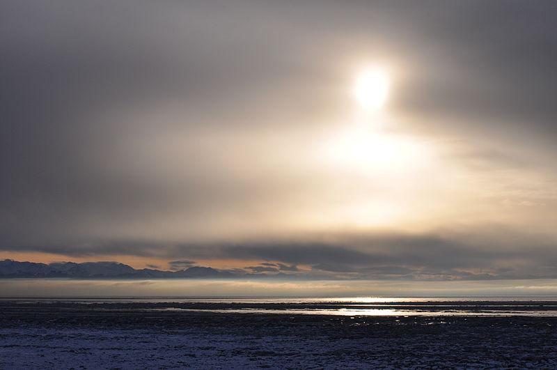 Cook Inlet, near Anchorage, Alaska