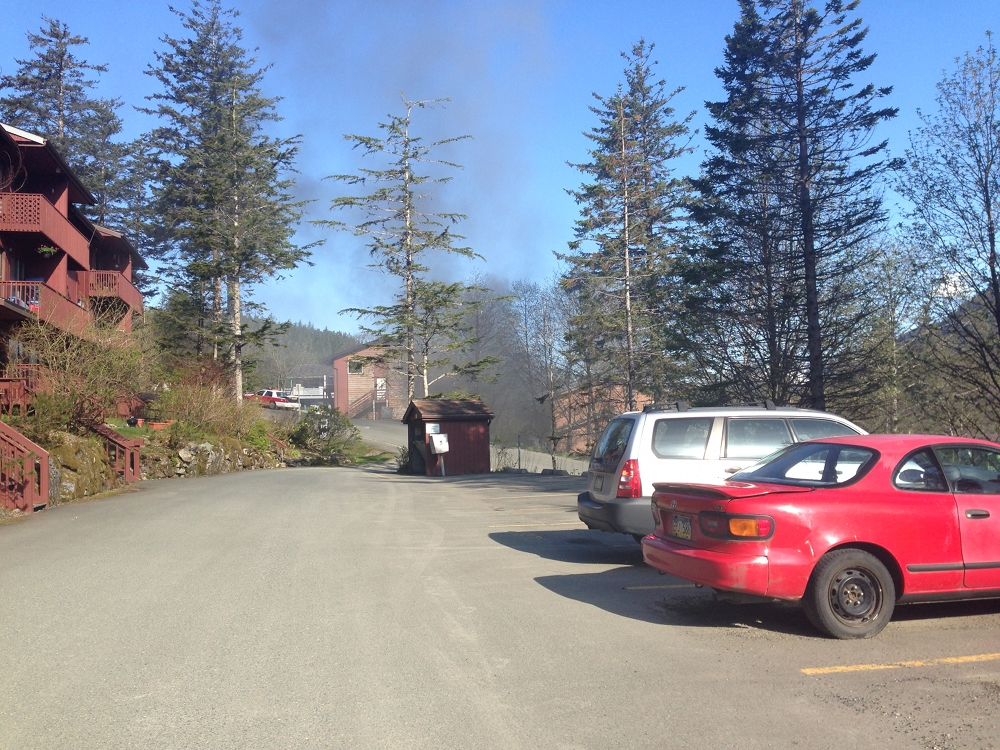 Crow Hill apartment fire