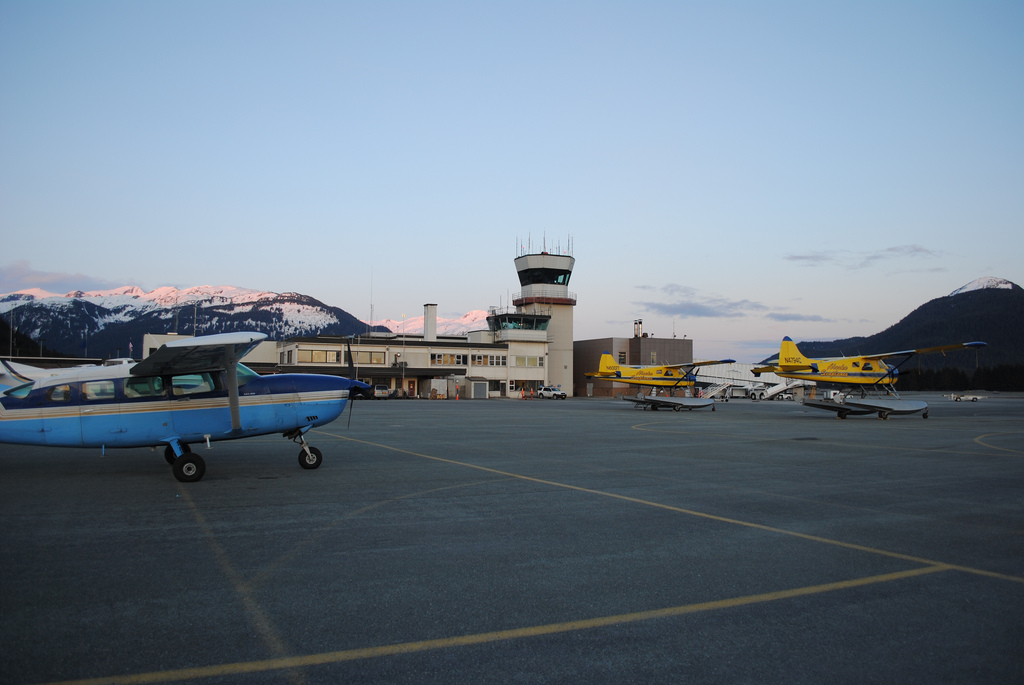 Juneau Airport tower
