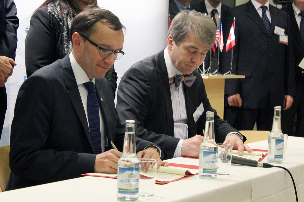 Host Country Agreement Signing Ceremony January 2013