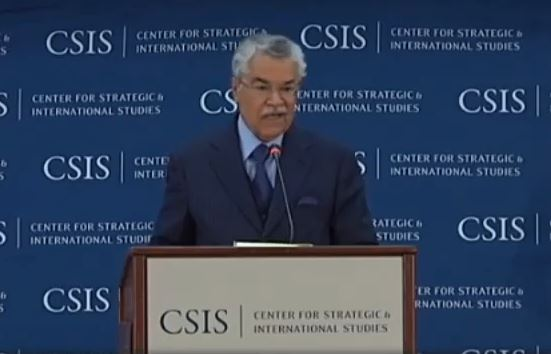 His Excellency Ali al-Naimi, Minister of Petroleum and Mineral Resources, Kingdom of Saudi Arabia.