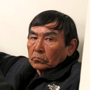 Napaskiak elder, Noah Okoviak, was one of several fishermen to be sentenced May 20. Photo by Lillian Michael.