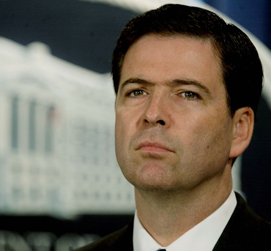 President Obama is expected to nominate James Comey, seen in 2004, to be the next director of the FBI. Mark Wilson/Getty Images