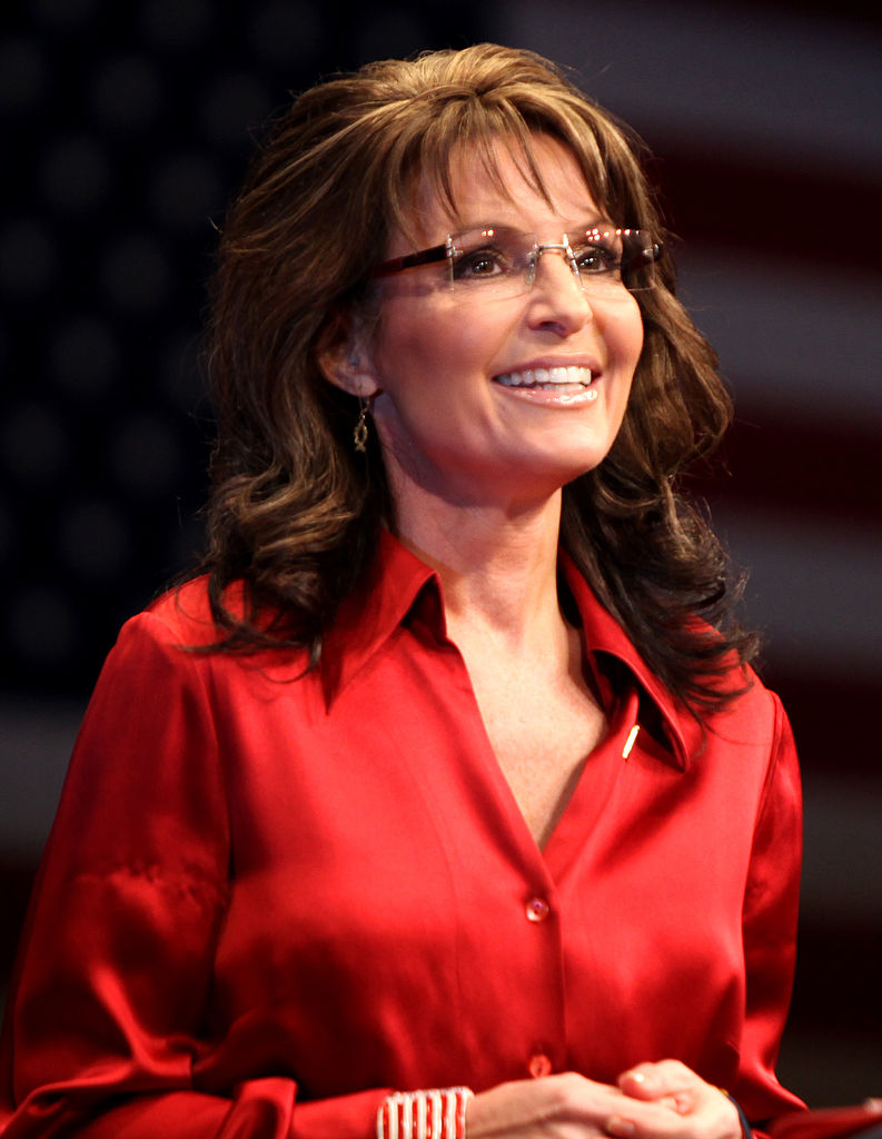 Sarah Palin speaking at CPAC in Washington D.C. on February 11, 2012.