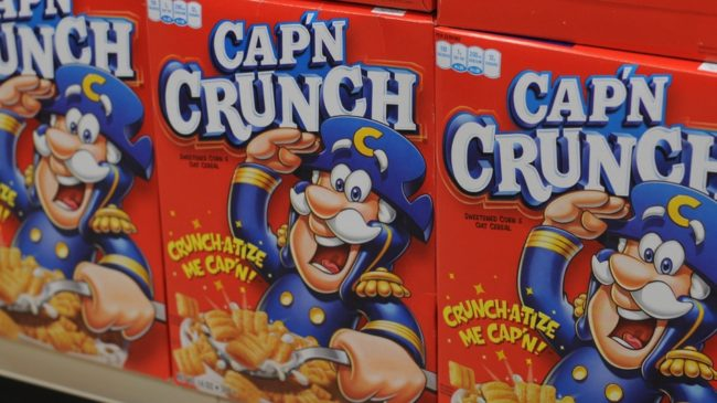 Say it ain't so, Cap'n. Quaker Oats Company/PepsiCo