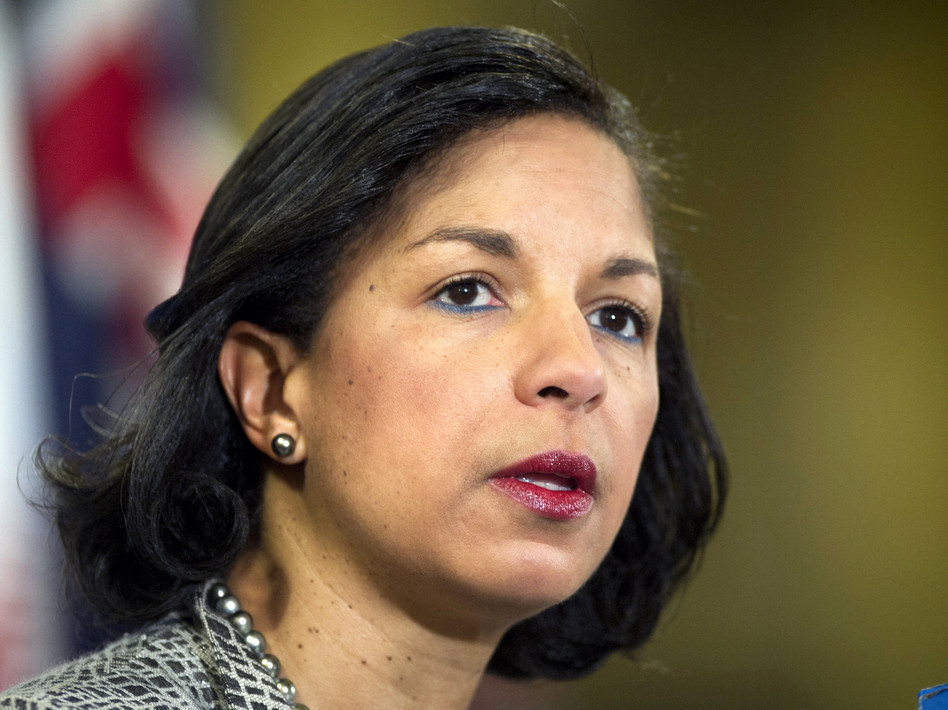 Susan Rice, U.S. ambassador to the U.N. Mark Garten / U.N. /UPI /Landov
