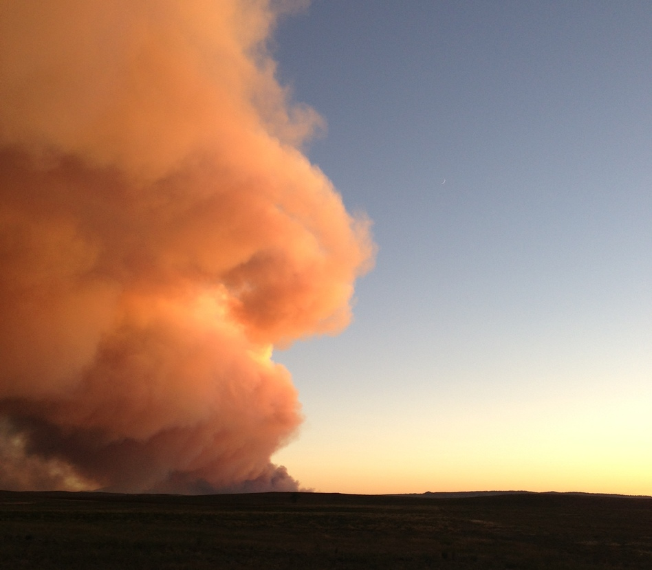 Colorado Fires: Thousands Of Homes Evacuated, Prisoners Moved