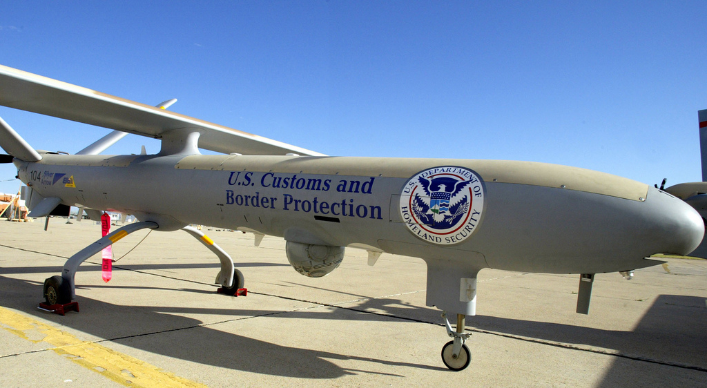 Unmanned Aircraft System used for border patrol