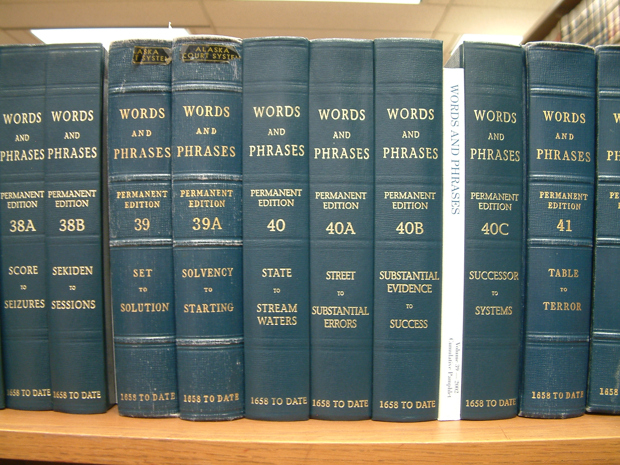 Law library books
