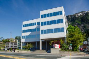 The Sealaska building in Juneau.