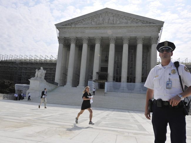 The U.S. Supreme Court building (June 2012 file photo). Zhang Jun /Xinhua /Landov