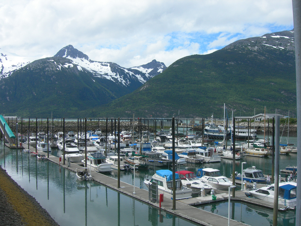 Skagway small boat harbor