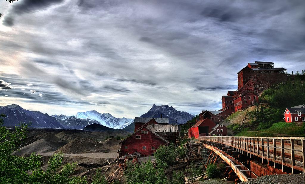 Kennicott Mine. (Photo by Mark Stevens / Flickr Creative Commons)