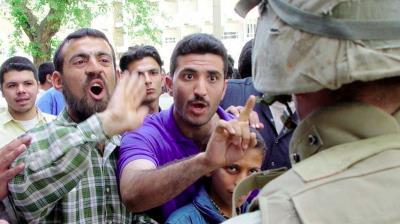 Angry Iraqis