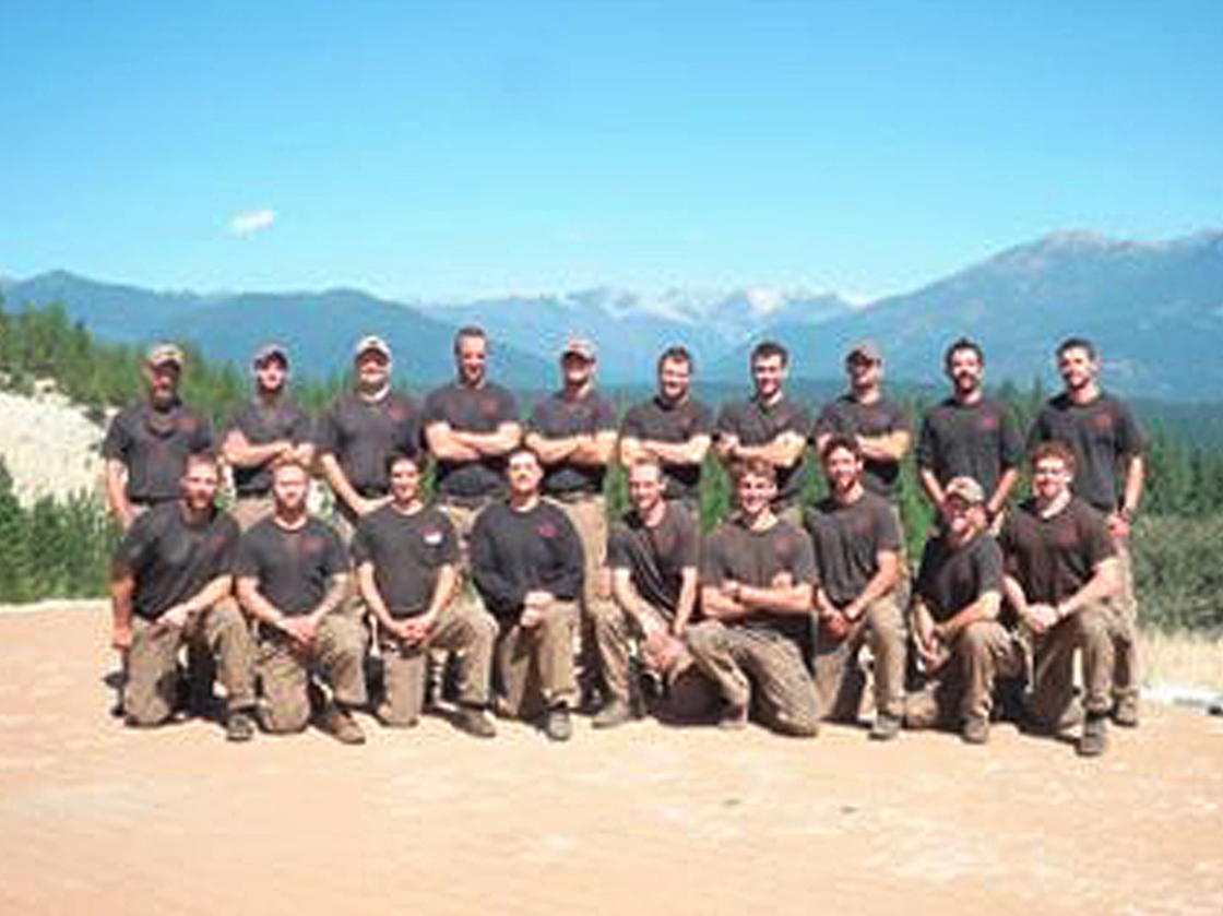 The Granite Mountain Interagency Hotshot Crew is shown in this undated handout photo provided by the City of Prescott in Arizona. The elite team of 19 firemen were killed on Sunday in one of deadliest U.S. firefighting disasters in decades as flames raced through dry brush and grass in central Arizona, destroying scores of homes and forcing the evacuation of two towns. City of Prescott