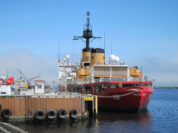 The Polar Star in port on June 27, 2013. Photo by Audrey Carlsen, KUCB – Unalaska.