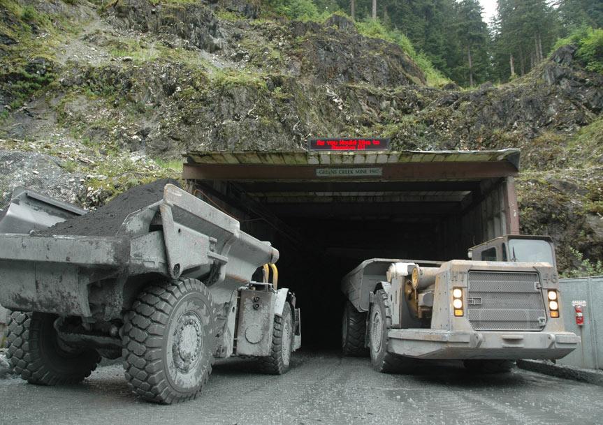Greens Creek Mine