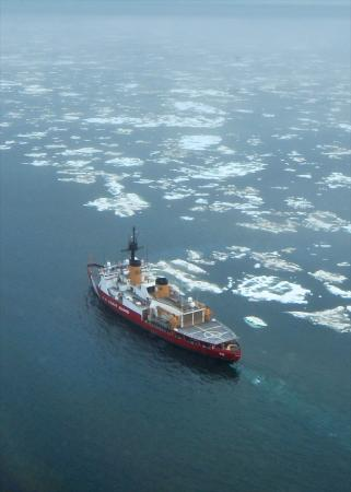 How the coast guards ice breaker crushes through 21 feet of solid ice the heavy ice publicscrutiny Images