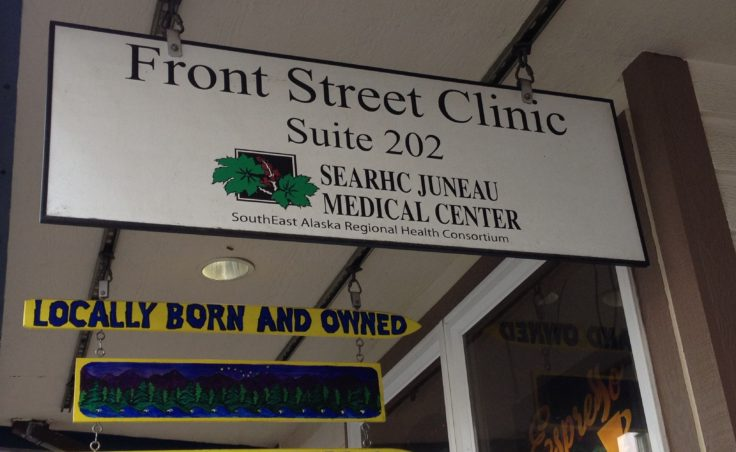 For many homeless people, Front Street Clinic is the most visible form of help. It connects them to other health and social services. (Photo by Lisa Phu/KTOO)
