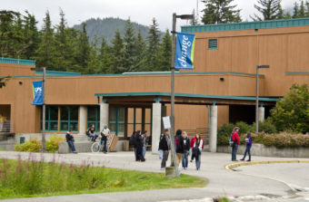 University of Alaska Southeast (Photo by Heather Bryant/KTOO